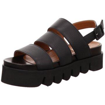 FABIO RUSCONI Sandalette schwarz