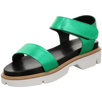 FABIO RUSCONI Sandalette grün
