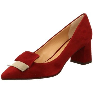 The Seller Klassischer Pumps rot