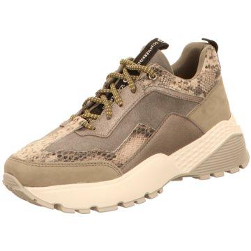 Sommerkind Plateau Sneaker grau