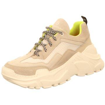 Sommerkind Plateau Sneaker beige