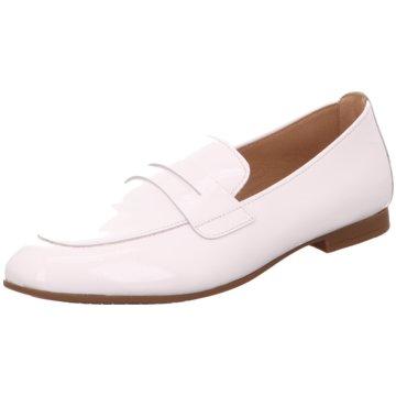 Gabor Klassischer Slipper weiß