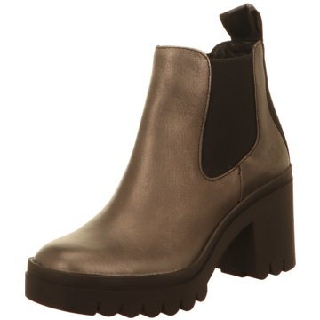 Fly London Chelsea Boot gold