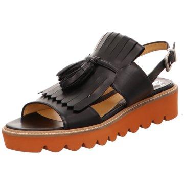 Truman's Sandale schwarz