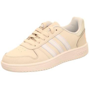 adidas Sneaker LowHOOPS 2.0 K beige