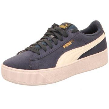 Puma Sneaker LowVikky Platform Jr. blau