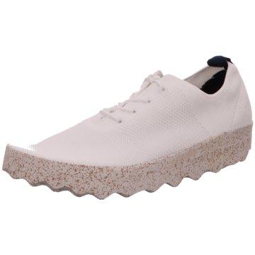 Asportuguesas Komfort Schnürschuh weiß