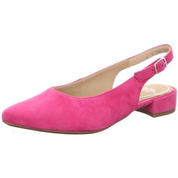 ara Slingpumps rosa