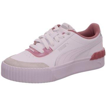 Puma Plateau SneakerCarina Lift Pearl weiß
