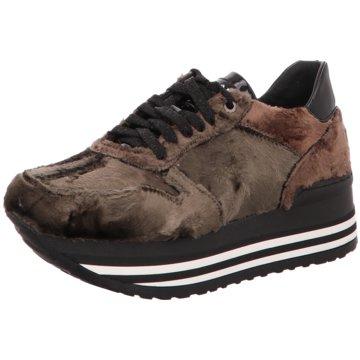 No Claim Plateau Sneaker braun
