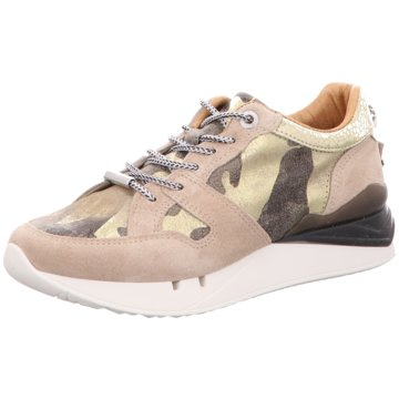 Cetti Plateau Sneaker beige