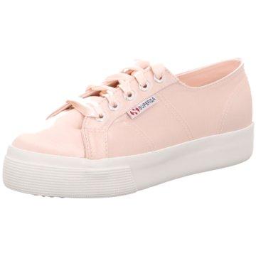 Superga Plateau Sneaker rosa