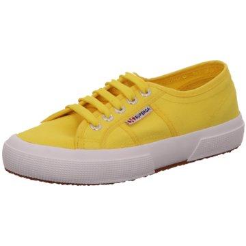 Superga Sneaker gelb