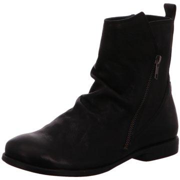 THINK Guad Leder Schuhe Schnür Stiefeletten Ankle Boots natur NEU 159,95 schwarz