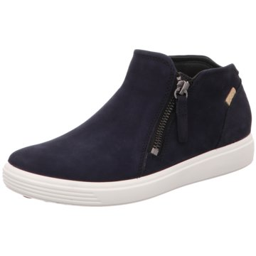 Ecco Sneaker HighECCO SOFT 7 LADIES blau