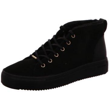 Blackstone Sneaker High schwarz