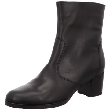 ara Klassische Stiefelette schwarz