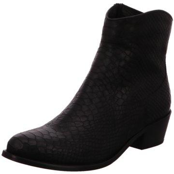 Lazamani Stiefelette schwarz