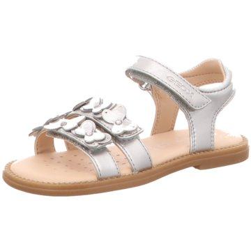 Geox Offene Schuhe silber
