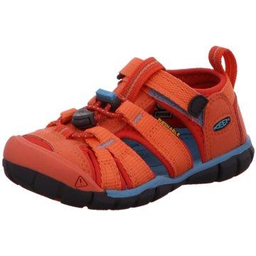 Keen Offene Schuhe orange