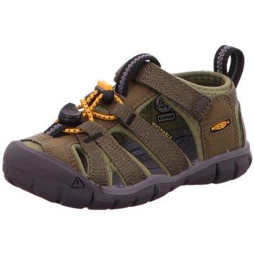 Keen Offene Schuhe grün