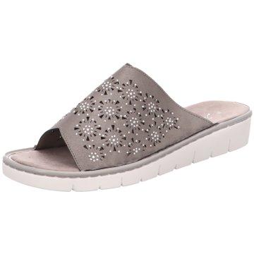 Idana Komfort Pantolette grau
