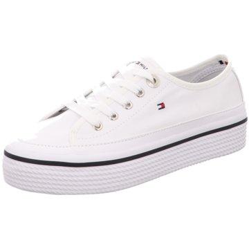 Tommy Hilfiger Plateau SneakerCorporate Flatform S weiß