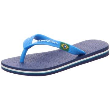 Palm Beach Offene Schuhe blau