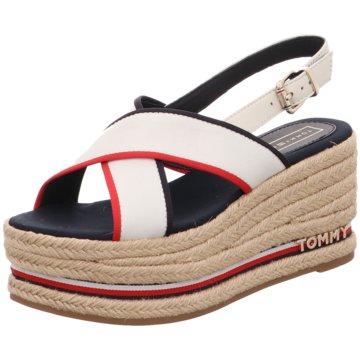 Tommy Hilfiger Top Trends Sandaletten weiß