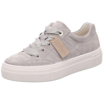 Legero Plateau Sneaker grau