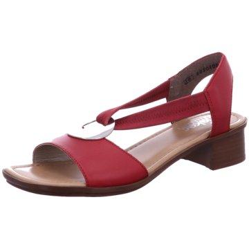 Rieker Sandale rot