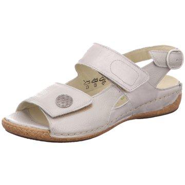 Waldläufer Komfort Sandale silber