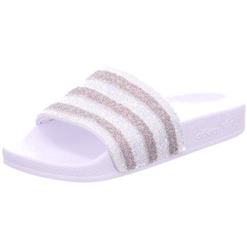 adidas BadelatscheAdilette weiß