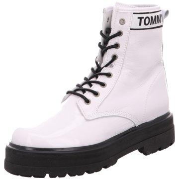 Tommy Hilfiger Schnürboot weiß