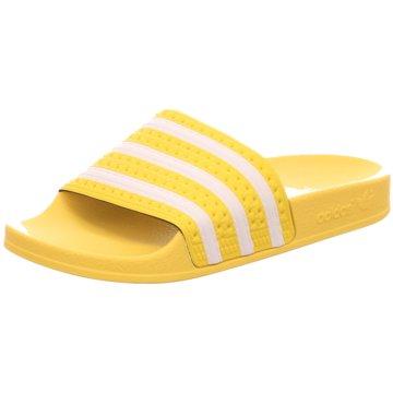 adidas Badelatsche gelb