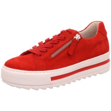 Gabor comfort Plateau SneakerSneaker rot