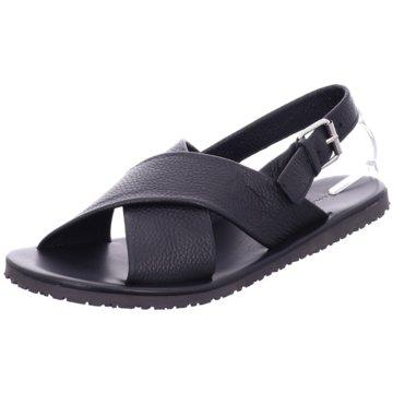 The Sandals Factory Sandale schwarz