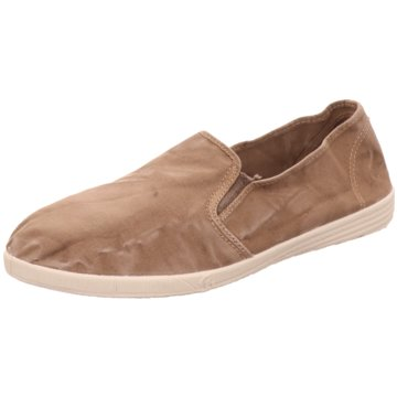Natural World Eco Klassischer Slipper beige