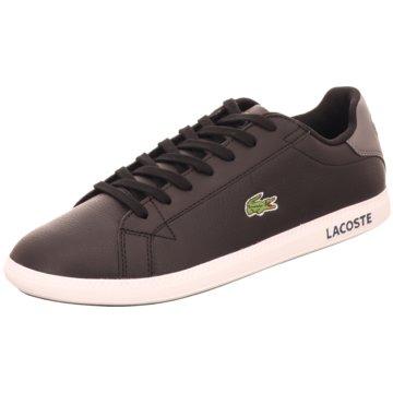 Lacoste Sneaker Low schwarz