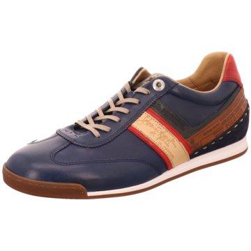 La Martina Sneaker Low blau