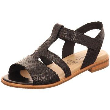 Sioux Bequeme Sandalen schwarz