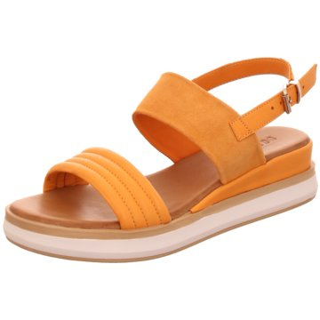 Inuovo Plateau Sandalette orange