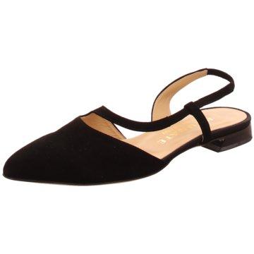 Brunate Sling Ballerina schwarz