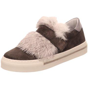 Alpe Woman Shoes Sportlicher Slipper grau