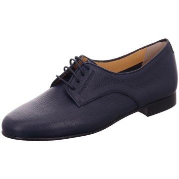 Truman's Eleganter Schnürschuh blau