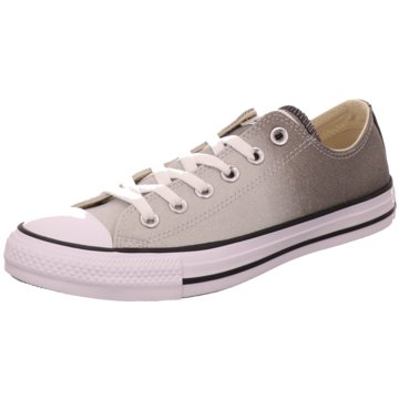 Converse Sneaker LowChuck Taylor All Star Ombre Metallic grau
