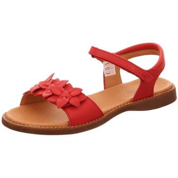 Froddo Offene Schuhe rot
