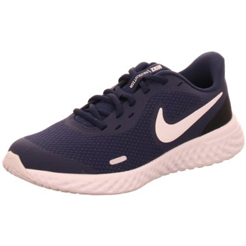 Nike Sneaker LowNike Revolution 5 Big Kids' Running Shoe - BQ5671-402 blau