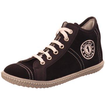 Däumling Sneaker High braun