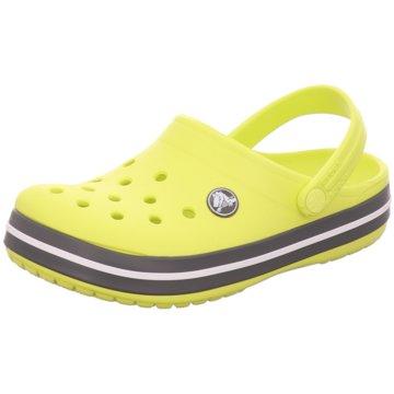 CROCS Offene Schuhe gelb